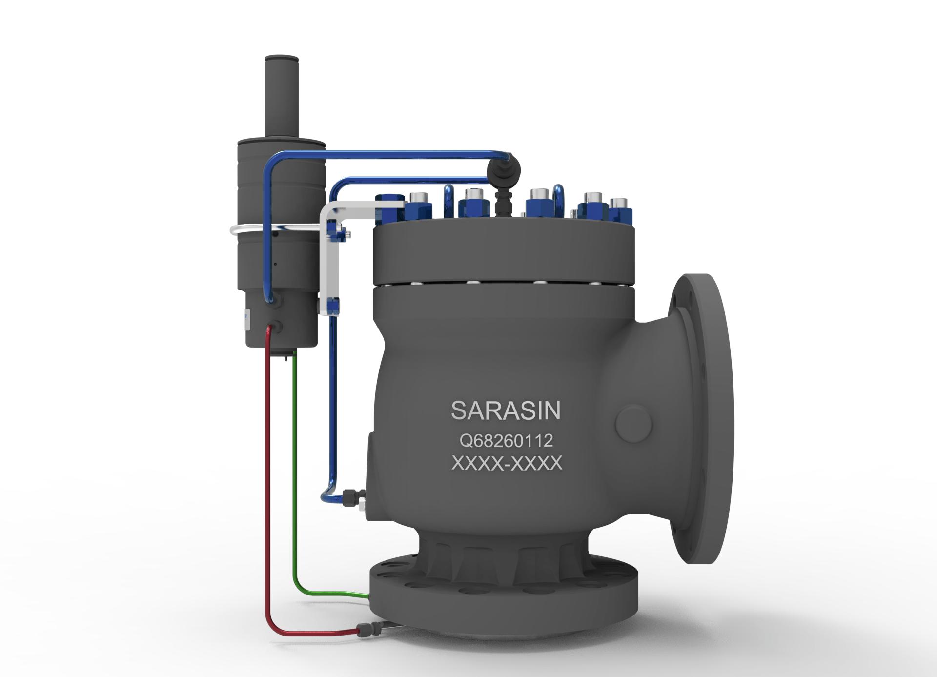 Sarasin 76 Series Pilot Operated Pressure Relief Valve 1
